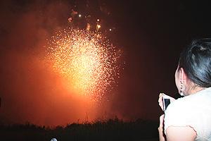 二子玉川の花火大会