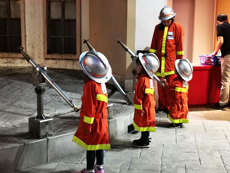 キッザニア 消防士