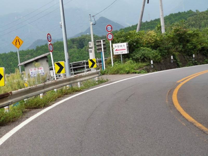 浄瑠璃寺への小道