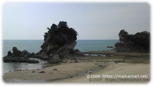 奇岩 人形岩