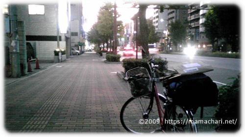 福岡の夜道