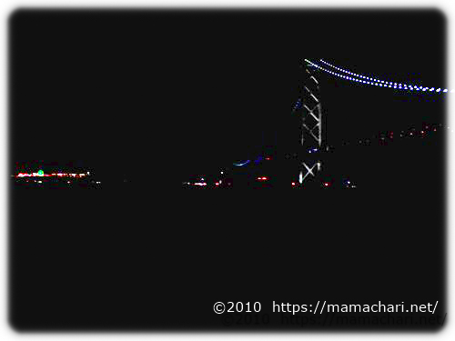 明石海峡大橋見える公園