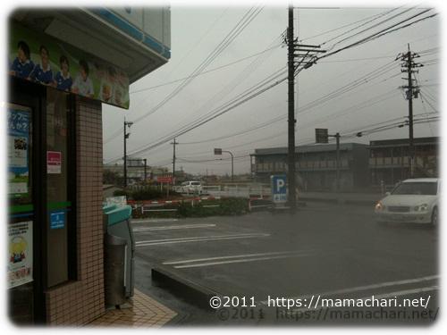 黒部IC口交差点のファミリーマート