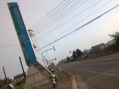 直線道路日本一